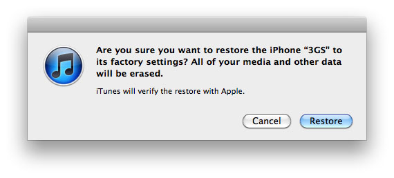 How to Reset iPhone with iTunes on PC